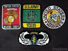 US Marines / Special Forces / Airborne Assorted Badges / Patches