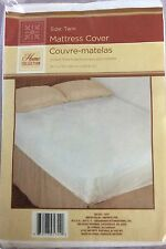 Lot Of 5 TWIN SIZE MATTRESS COVER  Soft Plastic Fitted Protector Waterproof
