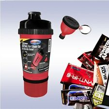 USP LABS 3-IN-1 SHAKER CUP (+ FUNNEL & FREE SAMPLE) bottle modern protein bcaa+