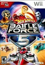 Hot Wheels: Battle Force 5 Wii Game