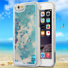 Glitter Stars Liquid Colored Quicksand Phone Case For iPhone 4G 4S 5C 5G 5S 6 6+