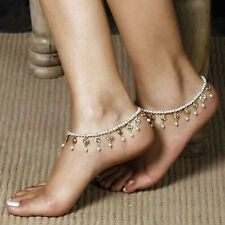 Charm Ladies Anklet Ankle Bracelet Chain Fashion Foot Pearl Bead Jewelry Womens