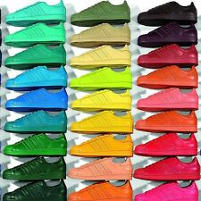 ADIDAS Pharrell Williams man woman tennis yellow green blue orange pink