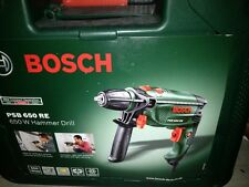 Bosch Psb 650 Re Compacto Electric Taladro Martillo 650 vatios 240v