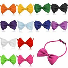Men Women Kids Adjustable Fun Tuxedo Prom Bowknot Bow Tie Collar Party Wedding