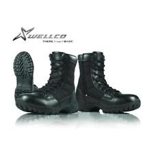 US Military Wellco Side Zip Combat Hot Weather Men's Entry Boot Black Sizes