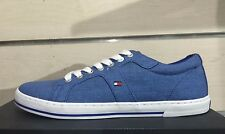 Tommy Hilfiger 2015 Mens Shoes Sneakers HARRY 9E Trainers Monaco Blu, New In Box