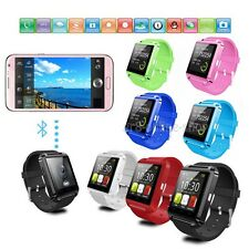 U8 Bluetooth Smart Wrist Watch Phone Mate For Android IOS Samsung iPhone HTC LG
