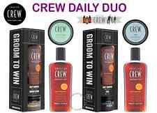 AMERICAN CREW - NEW DAILY DUO Daily Shampoo-Power Cleanser-Fiber & Forming Cream