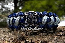 New York Yankees Paracord Bracelet Officially Licensed MLB Baseball Charm