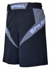 Sprawl MMA Fusion 3 Fight Shorts Black/Grey Mix Martial arts UFC Cage 2015