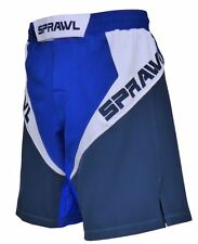Sprawl MMA Fusion 3 Fight Shorts Blue/White Mix Martial arts UFC Cage 2015