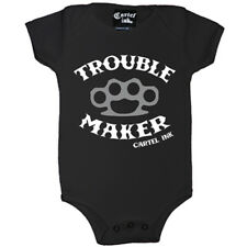 Kid's Cartel Ink Trouble Maker One Piece Black Brass Knuckles Knuckle Duster