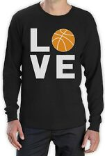 Love Basketball - Gift Idea for Basketball Fans Cool Long Sleeve T-Shirt Novelty