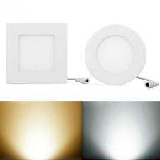 6W 9W 12W 15W 18W LED White 2835 SMD Recessed Ceiling Panel Downlight Square