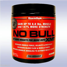 MUSCLEMEDS NO BULL XMT (20 SERVINGS) n.o. pre-workout no3 powder muscle meds
