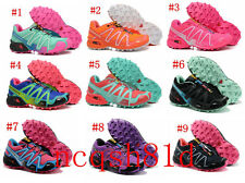 New colors women's Salomon Speedcross 3 Outdoor Running Sports Trainers Shoes