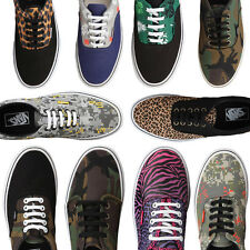 VANS scarpe Sneakers stringate fantasia uomo donna man woman