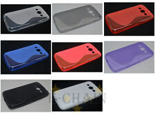 Multi Color S-Types TPU Gel CASE Cover For Samsung GALAXY Core LTE G386F G386W