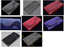 Multi Color S-Types TPU Gel CASE Cover For Sony Xperia S LT26i