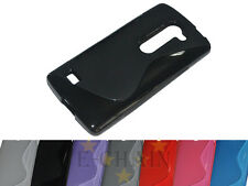 Multi Color S-Types TPU Gel CASE Cover For LG Leon 4G LTE H340N