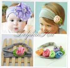 Baby Toddler Girls Infant Flower Photo Prop Headband Princess Headwear Hairband