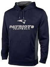 New England Patriots Majestic Gridlock Pullover Hoodie Mens Big & Tall Sizes