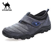 Mens Walking Hiking Trail Outdoors Ventilated Running Loafer slip on Shoes Train