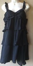"""WOMENS """"MNG Casual"""" Black Dress NWT Retail $55 Size S M"""