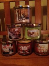 Bath & Body Works large 3 wick 14.5 oz candle - You Choose - Fall Spring Summer