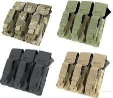 Condor Triple Kangaroo Pouch MA72 MOLLE Tactical 3 Magazine Mag Pouches