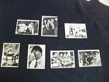 Beattles collector cards 2nd Series Music 1960 lot/7 Ringo John  George & Paul