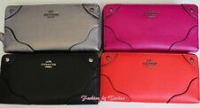 NWT Coach F 52645 GRN Leather Mickie Accordion Zip Wallet