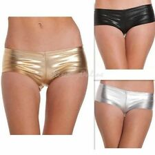 OZ SELLER Metallic Stripper Pole Dance Booty Shorts 3 Colours