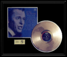 FRANK SINATRA TELL HER YOU LOVE HER RARE LP GOLD RECORD DISC ALBUM FRAME