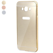 Ultra-thin Mirror Metal Case Cover Skin For Samsung Galaxy A8 Luxury Aluminum