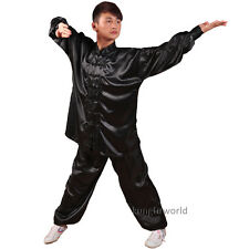 8 Colors Silk Tai chi Uniforms Wushu Martial arts Kung fu Morning Excercise Suit