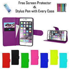"""Premium Leather Pu Wallet Case Stand Cover Card Holder For Apple iPhone 6S 4.7"""""""