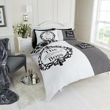 Duvet/Quilt Cover Set With 2 Pillow Cases Bedding Quilt Cover Set Boss