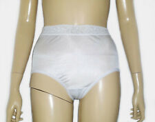 Ashley Taylor ,VINTAGE HIGH WAIST  SATIN LACE BIKINI PANTIES