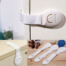 New Adhesive Child Kids Baby Cute Safety Locks For Door Drawers Cupboard Cabinet