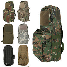 Camo Molle Tactical Army Military Assault Hydration Backpack Rucksack Hiking Bag