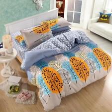 Tree Forest Single Double Queen King Size Bed Set Pillowcases Quilt Duvet Cover