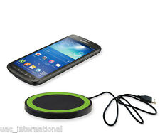 Qi Wireless Charging Receiver + Q5 Wireless Charging Pad for Samsung Galaxy S4
