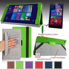 """For ASUS Transformer Book T90CHI  8.9"""" PU Leather Case Cover Stand + Accessories"""