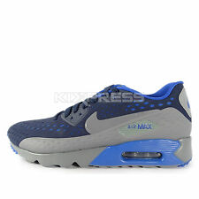 Nike Air Max 90 Ultra BR [725222-400] NSW Running Obsidian/Cool Grey-Game Royal