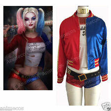 Batman DC Comics Suicide Squad Harley Quinn Cosplay Costume Jacket Only