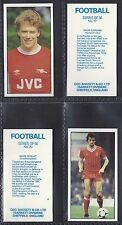 BASSETT - FOOTBALL 1983-84 (NUMBERS 26-50) PLEASE SELECT YOUR CARD.
