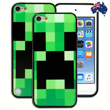 NEW Green Black Check Hard Back Case for Apple iPod Touch 5 5th 6 6th Gen Cover