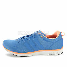 Adidas Adizero Feather 4 M [B40776] Running Blue/Coral